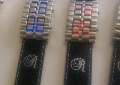 Horloge bedrukt