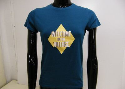 Welcome to the village B&C shirt 180 grams