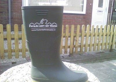 laarzen voor Fryslan leeft met water.