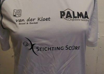 Sportshirt voor Stichting de Score